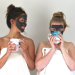 Mask with gelatin and activated charcoal is a remedy for blackheads